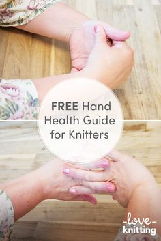 Use our FREE guide for knitters to keep your hands and wrists healthy. Useful stretches for your hands and wrists to stop pain when knitting. Read the full post with tutorial pictures on the LoveKnitting blog.