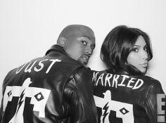Az első hivatalos fotók Kim Kardashian és Kanye West esküvő / JOY.hu
