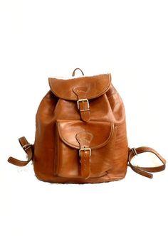 Un sac à dos vintage
