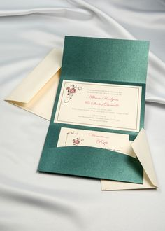 Looking for DIY Emerald Shimmer Horizon Pocket Folder Invitations cards? Check out our Emerald Shimmer Horizon Pocket Folder Invitations. Southern Wedding Invitations, Diy Wedding Invitation Kits, Beach Theme Wedding Invitations, Diy Invitations, Invitation Ideas, Acrylic Wedding Invitations, Wedding Cards, Graduation Announcements, Emerald Green