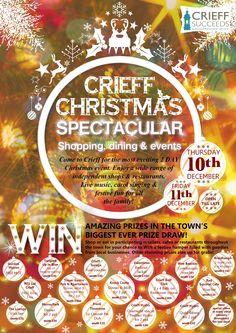 Crieff Christmas Spectacular Event 2015.
