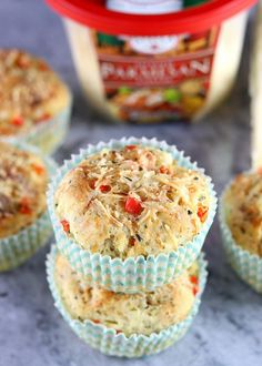 Savory-Pizza-Flavored-Muffins-33