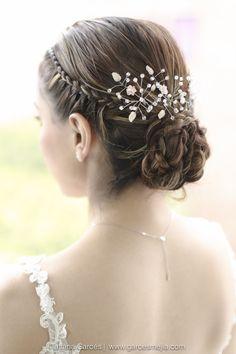 Peinados para novia,  recogido Hairstyle Bridal wedding - Boda