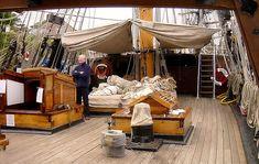 Love the ship deck!