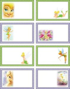 Tinker Bell Tags, Tinker Bell & Peter Pan, Gift Tags - Free Printable Ideas from Family Shoppingbag.com