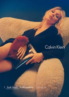 Kate Moss for Calvin Klein Fall/Winter 2016 Campaign                                                                                                                                                      More
