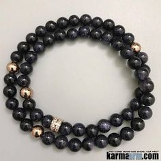 ♛ #BEADED #Yoga #BRACELETS  Goldstone is a stone of #ambition.  It builds energy, courage and a #positive #attitude, increases drive and confidence.  A gently uplifting stone, #Goldstone promotes vitality. #Rose #Gold #Chakra #gifts #Stretch #Womens #jewe http://kundaliniyogameditation.com/