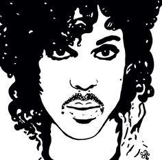 """PRINCE ~ The Beautiful Ones"" painting by Shon Hudspeth www.shonsart.com #Prince #art #music #ShonHudspeth #shonsart"