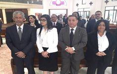 Gobernador SD acompaña a magistrada Olga Diná misa por el Día del Poder Judicial - periodismo360rd periodismo360rd