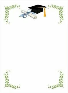 You are cordially invited to attend the Graduation of Ms. Graduation Decorations, Graduation Cards, Graduation Invitations, Borders For Paper, Borders And Frames, Graduation Wallpaper, Page Borders Design, Paper Frames, Writing Paper