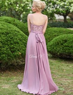 Dressv 2016 pink scoop neck A-line long bridesmaid dress sleeveless zipper up lace floor length bridesmaid dress with sashes