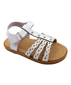 White Angel Braided Sandal