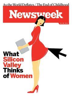 Una ilustración sencilla pero efectiva en Newsweek.