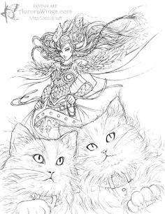 Aurora Wings - Fantasy Art of Mitzi: August 2011