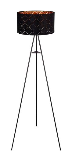 Industrial Look Tripod Lamp, Elegant, Loft, Industrial, Design, Home Decor, Products, Black Metal, Creative