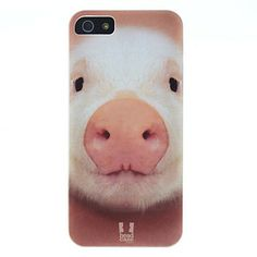 Lovely Pig patroon Hard Case voor iPhone 5