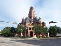 Waxahachie, TX : Ellis County Courthouse