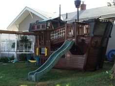 playhouse plans pirate ship #kidsplayhouseplans