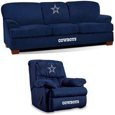 Dallas Cowboys NFL Stadium Fan Cave Set
