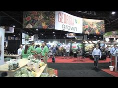 The Produce Marketing Association's recent Fresh Summit at the World Congress Center in Atlanta brought together thousands of representatives from the produce industry. It's the most important event of the year for that industry, with attendees from over 60 countries.  Kenny Burgamy has the story. @pmaproduce