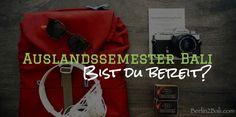 Auslandssemester Bali - Bald geht's los! Bali, Messenger Bag, Satchel, Templates, Studying, Crossbody Bag, Backpacking, School Tote