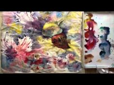 Playing now on http://ArtistsNetwork.tv, Watercolor with Lian Quan Zhen: Angelfishes in the Coral World is a half-spontaneous & half-detail style Chinese painting demo that will teach you fun & unique materials and watercolor painting techniques as you create a beautiful undersea scene, focusing on two stunning angelfish.
