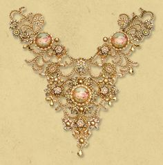 Michal Negrin Impressive collar necklace....wow....just wow♥