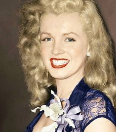 Marilyn Monroe photographed in 1948