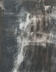 James Welling, 120815G, 2015. Chemigram on chromogenic paper.