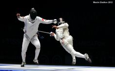 Bucketlist: get back into fencing. Such an amazing sport