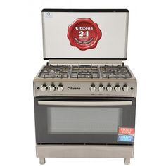 Citizens 90 x 60 Free Standing Gas Cooker Inox Imperial Free Standing Gas Cookers, Design