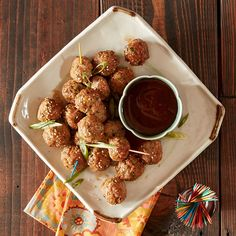 Teriyaki Meatballs  - Make some simple Meal Magic with this delicious recipe from Reynolds Kitchens.
