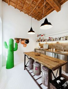 Cozinhas ecléticas