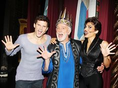 Original Pippin Star John Rubinstein As Charles in the Revival of Pippin.  So happy to have seen this production!