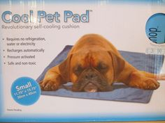 Does your fluffy pooch dread the heat that comes with all this sunshine? Fear not, the dog days of summer can be defeated! Activated by the pressure of your dog lying down, these cooling pads help keep your pooch from panting without the use of electricity, refrigeration, or water! Available in 3 sizes.