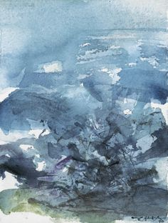 ZAO WOU-KI 1920 - 2013 SANS TITRE SIGNED AND DATED 70; WATERCOLOUR ON PAPER. EXECUTED IN 1970.