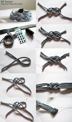 Nautical Rope Bracelet - use to make belt for Sophie