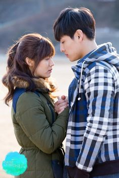Angel's Eyes drama-- I wish all of Angel Eyes was about this couple, their romance was just so lovely and fun