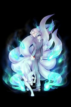 My favourite pokemon of all time is Ninetales No explanation needed; Ninetales is gorgeous and BADASS. It has an epic shiny colour palette as well.And I have it tattooed on my right lower arm.