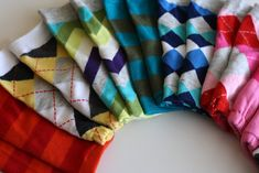 Baby Leg Warmer Tutorial from Socks! Love it!    kojotutorial: a rainbow of adjustable little leggies