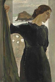 Valentin Serov (1865-1911) Portrait of Maria Zetlin (1882-1976) Price realised GBP 9,266,500 Estimate GBP 1,500,000 - GBP 2,500,000