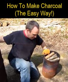 For most of us charcoal means one thing - barbecues! But good quality home made charcoal can also be used to make effective DIY water filters and it can also be used to treat poisoning when consumed in small quantities . Homestead Survival, Camping Survival, Outdoor Survival, Survival Prepping, Emergency Preparedness, Survival Skills, Survival Backpack, Emergency Supplies, Survival Shelter