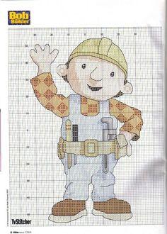 """Bob de Bouwer is een Britse animatieserie voor kinderen die draait rond Bob, een goedlachse bouwvakker. Bobs leus is """"Kunnen wij het maken?!"""", waarop de machines in koor roepen: """"Nou en of!"""" De ietwat verlegen Liftie voegt daar tussen neus en lippen """"Ik denk het wel, ja"""" aan toe. Bob de Bouwer heeft ontzettend veel speelgoed, bekers, broodtrommels etc."""