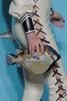 Olympia Le-Tan Spring 2014: Something Fishy is Going On
