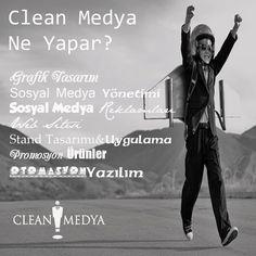 Clean Medya Kimdir Ne iş Yapar? #webtasarımı #sosyalmedyayönetimi #cleanmedya #grafiktasarım #googleadwordsreklamları #facebookreklamları #instagramreklamları