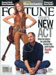 Steve Jobs Photo, All About Steve, Steve Jobs Apple, Job Pictures, Steve Wozniak, Photo Scan, Fortune Magazine, Sheryl Crow, Great Leaders