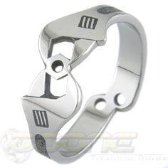 Mechanica Titanium Ring