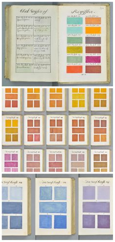 Is This The Earliest Form Of Color Obsession? | Pantone, Artist and ...
