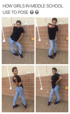 lmao damn we still pose like dat once in a while and yall no dat lmao follow me for more @yagirlshayy__