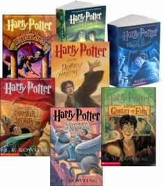 I admit it...I loved reading the Harry Potter series